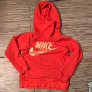 Nike girls size 8 hoodie